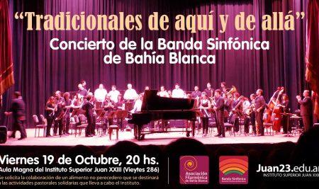 Concierto de la Banda Sinfónica de Bahía Blanca en el Juan 23