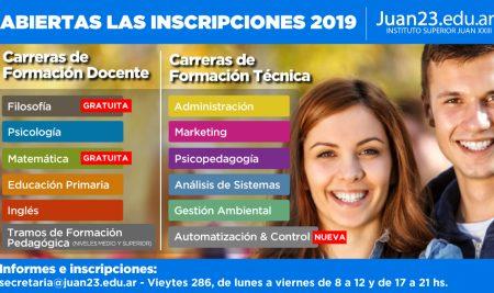 Abiertas las Inscripciones Carreras 2019