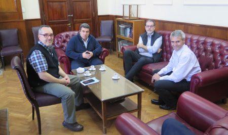 Reunión de Instituciones de Educación Superior con el Rector de la UNS