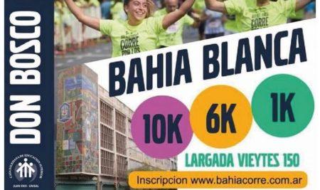 Deporte y Solidaridad: Bahía Blanca corre por los Jóvenes