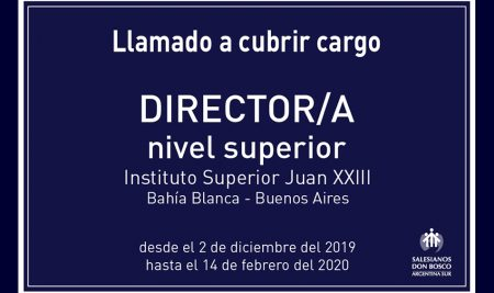 Convocatoria a cubrir cargo de Director/a de Nivel Superior