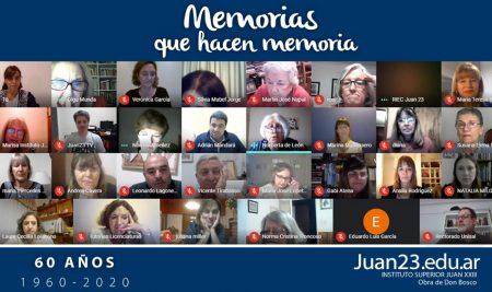 «Memorias que hacen memoria»: 60º años del Juan 23