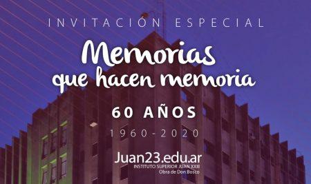 «Memorias que hacen memoria»: 60 años del Juan 23