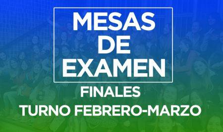 Fechas de Finales (Feb-Mar 2021)