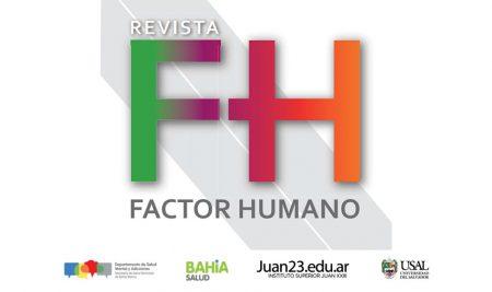 """Primer número de """"Factor Humano"""" la revista en la que participa el Voluntariado de Psicología JUAN 23-USAl"""