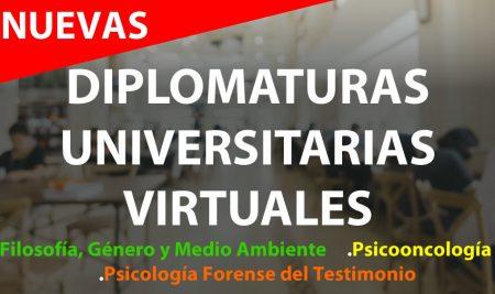 Nuevas Diplomaturas Universitarias