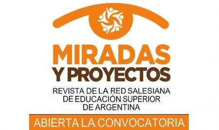 Revista Miradas y Proyectos: Convocatoria de trabajos